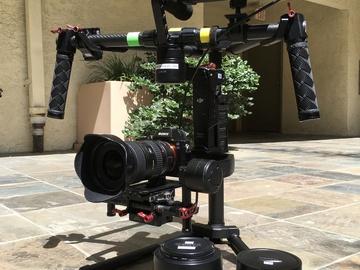 Rent: DJI Ronin M + A7s + 3 lenses + Atomos Shogun recorder Kit