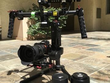 Rent: DJI Ronin M + A7s + 3 lenses + Small HD Monitor Kit Pacakage