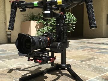 DJI Ronin M + A7sii + Canon 16-35