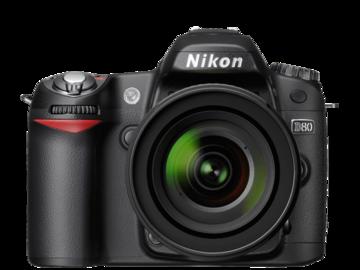 Rent: Nikon D80