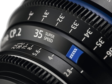 Rent: 35mm Zeiss CP2 Super Speed T1.5 (114mm-D)