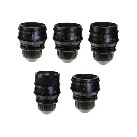 Zeiss Super Speed Mark III, 5 Lens Set (18-85)