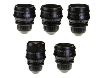 Rent: Zeiss Super Speed Mark III, 5 Lens Set (18-85)