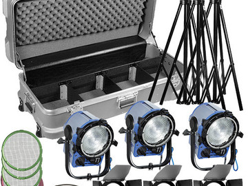 Rent: 3 ARRI 1 K Tungsten Light Kit