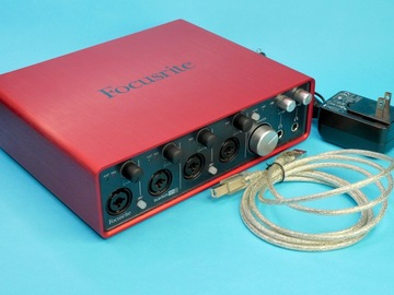 Rent: Focusrite Scarlett 18i8 18-in/8-out USB audio interface