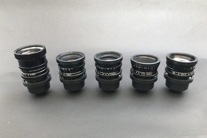 Zeiss Super Speed Mark I, 5 Lens Set (18-85)