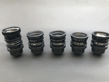 Rent: Zeiss Super Speed Mark I, 5 Lens Set (18-85)
