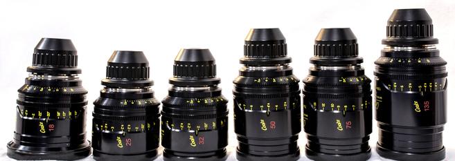 Cooke Mini S4/i - 10 Lens Set, Uncoated (18-135)