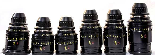 Cooke Mini S4/i - 10 Lens Set, Uncoated (18-135)