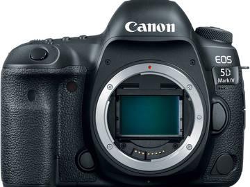 Rent: Canon 5D Mark IV Body + 512GB Media