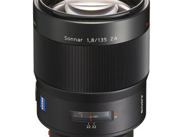 Rent: Sony A/AF 135mm Planar T* f/1.4 Carl Zeiss ZA