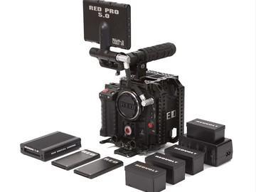 Rent: Red Scarlet MX Package with Canon SIGMA 18-35mm f1.8 lens