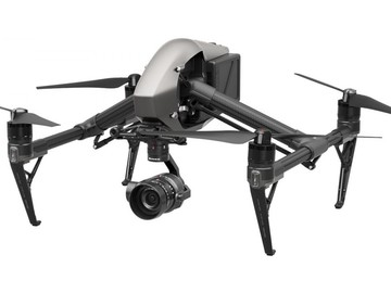 Rent: DJI Inspire 2 Quadcopter with X5S camera and ProRes license.