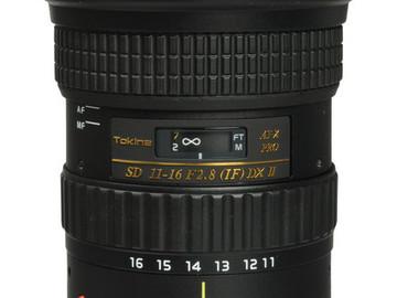 Rent: Tokina 11-16 f/2.8