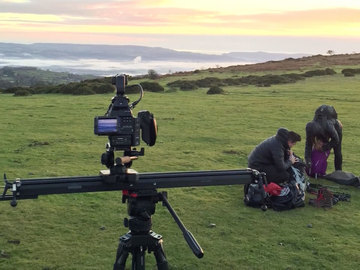"""Rent: Cinevate Inc 48"""" Hedron Camera Slider"""
