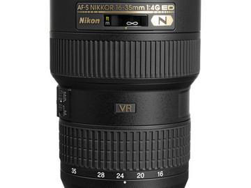 Rent: Nikon 16-35 f4