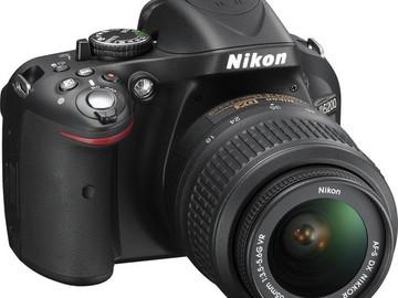 Rent: Nikon D5200
