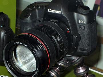 Canon EOS 5D Mark II package w/ lenses & flash