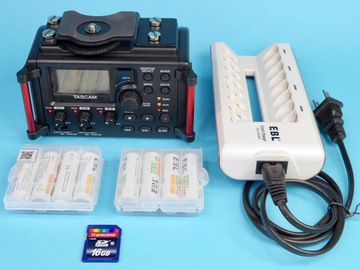 Rent: Tascam DR-60DmkII 4-Channel Recorder w/ 8 AA, charger (C)