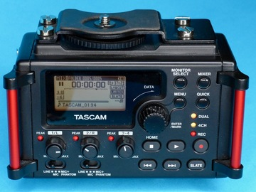 Rent: Tascam DR-60DmkII 4-Channel Recorder w/ 4 AA (B)