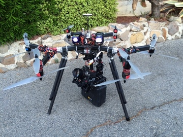 Rent: 6K Dragon Drone incl. Camera and Ronin-MX - FAA Approved
