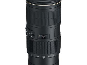 Rent: Nikon AF-S Nikkor 70-200mm f/4G ED VR