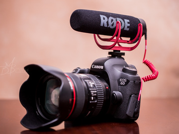 Rent: Canon 6D VIDEO PACKAGEw/ 24-105, mic, memory, batts, monopod