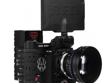 Rent: RED Epic-W Helium 8K S35 Package - Gold-Mount / V-Mount
