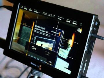 Rent: Blackmagic Video Assist 4K ProRes Recording Monitor PACKAGE