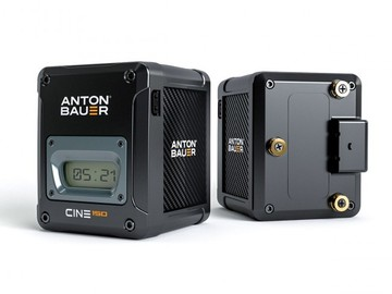 Rent: Anton Bauer Cine 150 Gold-Mount Package - (4 x Bat, Charger)