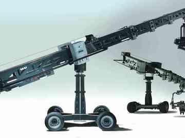 SuperTechno 22 Telescopic Camera Crane