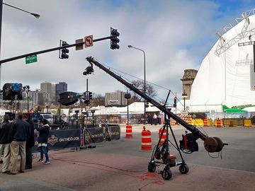 Jimmy Jib Triangle (Up to 12 Meters with Remote Head)