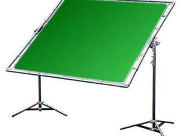 Rent:  12x12 Chroma Green Screen Complete Kit
