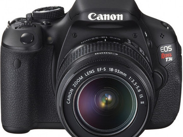 Rent: Canon EOS Rebel T3i