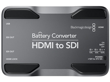 Rent: Blackmagic Design HDMI to SDI Battery Converter