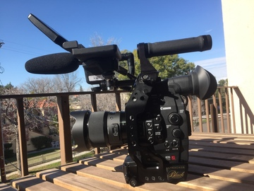 Rent: Canon C500 with RedrockMicroCage/Handle, Batts and CF Cards