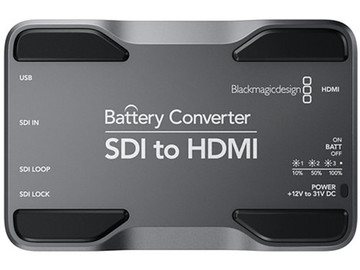 Rent: Blackmagic Design SDI to HDMI Battery Converter
