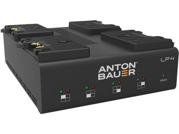 Anton Bauer LP 4-POS Fast Battery Charger