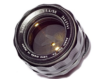 Rent: Super Takumar 50mm f1.4
