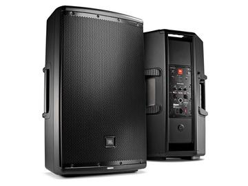 "Rent: JBL 15"" Two-Way Powered Speaker"