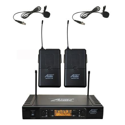 UHF Wireless Lapel Microphone System
