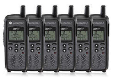 Rent: Motorola Two-Way UHF Radio 6-Pack