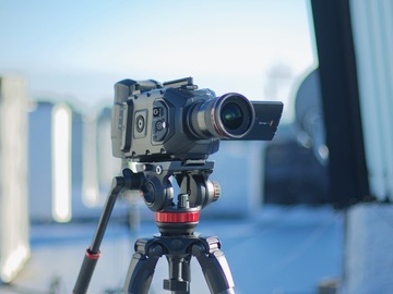 Rent: Ursa Mini 4.6K with Batteries and Handheld Rig