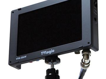 "Rent: The VFM-056WP 5.6"" 3G-SDI Viewfinder Monitor from TVLogic"