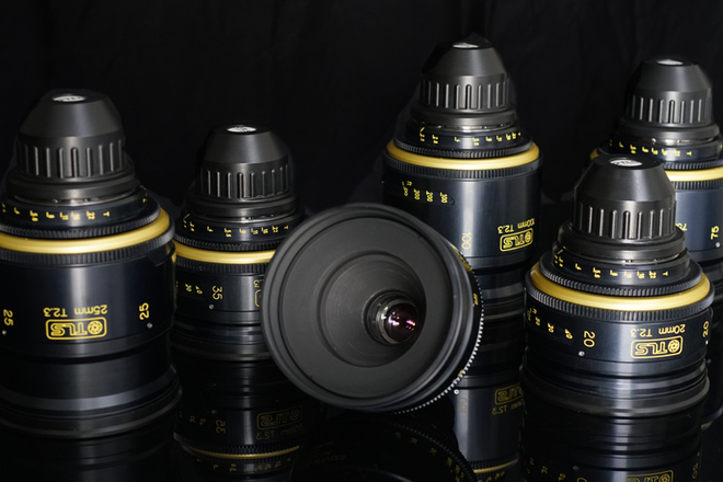 TLS REHOUSED Super Baltar 6 lens set Bausch and Lomb