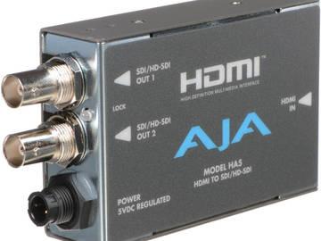 Rent: AJA-SDI Mini Converter