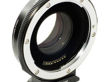 Rent: Metabones Canon EF Lens to Micro 4/3 Speedbooster