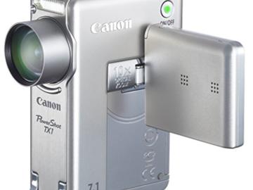 Rent: Canon PowerShot TX1