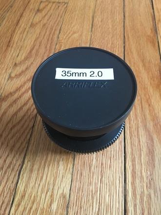 Zeiss ZF.2 35mm 2.0 with Cine-Mod