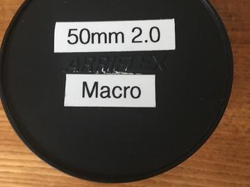 Rent: Zeiss ZF.2 50mm f2 Makro with Cine-Mod